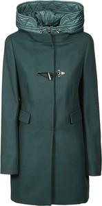 Turkusowy płaszcz Fay w stylu casual