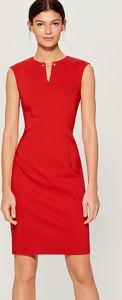 Czerwona sukienka Mohito