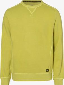 Zielona bluza Camel Active w stylu casual z bawełny