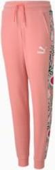 Różowe spodnie dziecięce Puma