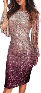 Sukienka Cikelly dopasowana w stylu boho