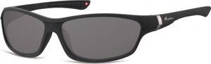 Stylion Okulary dziecięce sportowe Unisex czarne matowe CS90