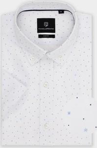 Koszula Pako Lorente z kołnierzykiem button down z krótkim rękawem