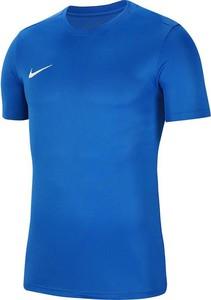 Niebieska koszulka dziecięca Nike Team