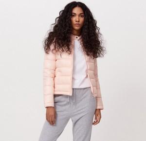 Różowa kurtka Cropp w stylu casual