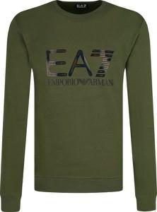 Zielona bluza Emporio Armani w młodzieżowym stylu