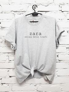 T-shirt Time For Fashion z bawełny