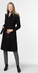 Czarny płaszcz Ted Baker