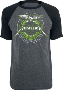 T-shirt Metallica z bawełny