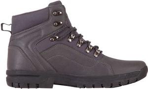 Buty zimowe Kappa ze skóry sznurowane