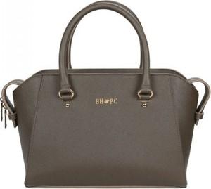 Brązowa torebka Beverly Hills P.c. średnia do ręki