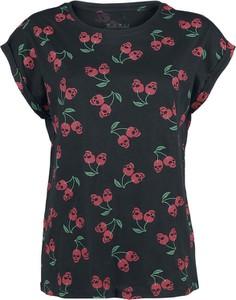 T-shirt Emp z okrągłym dekoltem z krótkim rękawem z bawełny