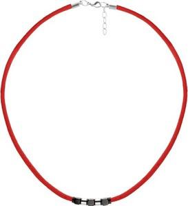 Manoki WA463C czerwony naszyjnik symbol szczęścia