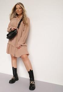 Sukienka Renee koszulowa mini w stylu casual