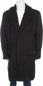 Czarny płaszcz męski Paul Jones