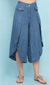 Spodnie 100% Lin z lnu
