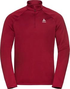 Czerwona bluza ODLO z plaru