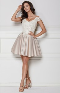 Sukienka LAVIKA z tkaniny gorsetowa mini