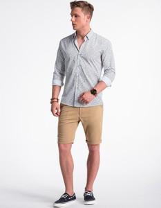 Koszula Ombre_Premium z długim rękawem w stylu casual