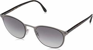 amazon.de Armani Okulary przeciwsłoneczne dla mężczyzn 0 ar6062 300311, Matte Gunmetal/Gradient Grey, 51