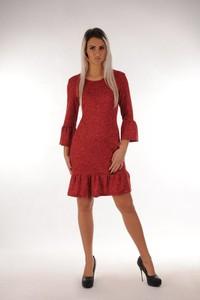 Czerwona sukienka Oscar Fashion