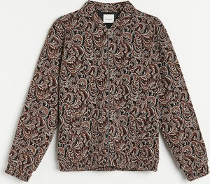 Sweter Reserved z żakardu