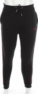 Czarne spodnie sportowe BooHoo