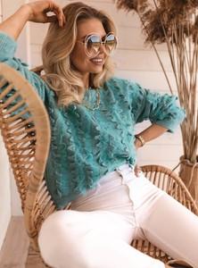 Niebieski sweter SELFIEROOM