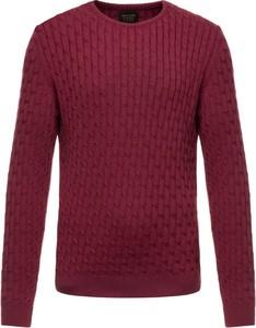 Czerwony sweter Pierre Cardin