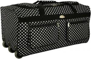 Czarna torba podróżna Pellucci