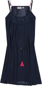 Niebieska sukienka dziewczęca Tom Tailor