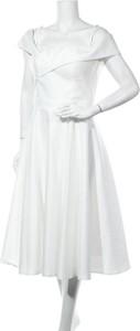 Sukienka Troyden z krótkim rękawem midi