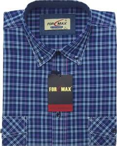 Niebieska koszula Formax z długim rękawem w stylu casual