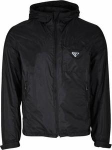 Czarna kurtka Prada krótka