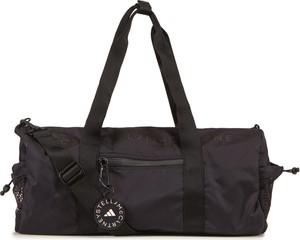 Czarna torba sportowa Adidas w sportowym stylu