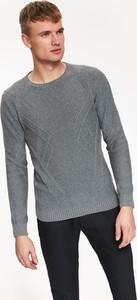 Sweter Top Secret z dzianiny