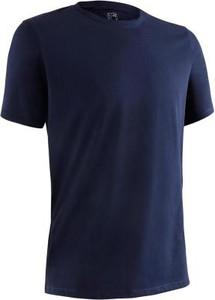 Granatowy t-shirt Domyos z bawełny