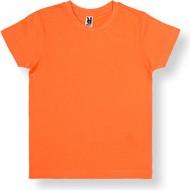 Pomarańczowa koszulka dziecięca Ombre Clothing z bawełny