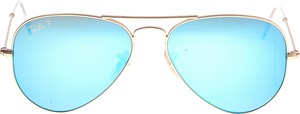 Miętowe okulary damskie Ray-Ban
