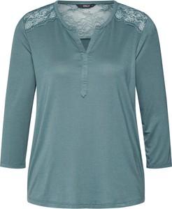 Zielona bluza Only z dżerseju w stylu casual