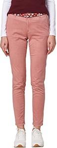 Różowe spodnie esprit