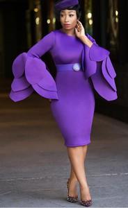 Elegrina sukienka koktajlowa florance fioletowa