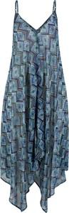 Sukienka bonprix bpc selection w stylu casual z dekoltem w kształcie litery v
