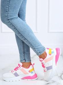 Buty sportowe Buty Damskie z tkaniny z płaską podeszwą
