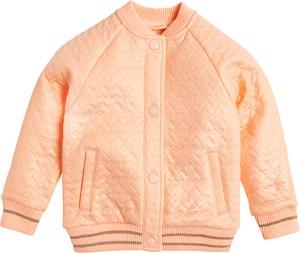 Pomarańczowa bluza dziecięca Cool Club z bawełny