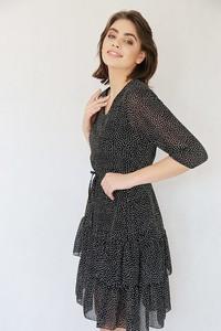 Sukienka Endoftheday z szyfonu z dekoltem w kształcie litery v mini