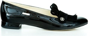 Czarne baleriny Zapato z nubuku