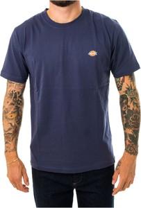 Niebieski t-shirt Dickies w stylu casual