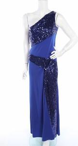 Niebieska sukienka Angel Fashions