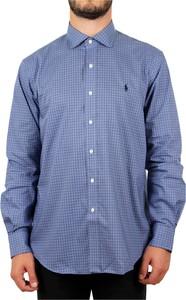 Niebieska koszula POLO RALPH LAUREN w stylu casual